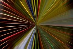 Ακτίνες των χρωμάτων Στοκ Εικόνες