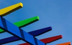 Ακτίνες χρωμάτων Στοκ φωτογραφία με δικαίωμα ελεύθερης χρήσης
