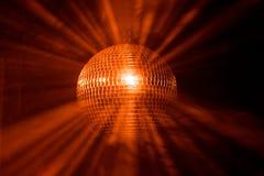 ακτίνες disco σφαιρών Στοκ Εικόνες