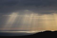 ακτίνες s Θεών Στοκ φωτογραφία με δικαίωμα ελεύθερης χρήσης