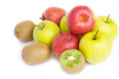 ακτινίδια μήλων Στοκ Φωτογραφίες