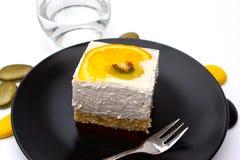 ακτινίδιο κέικ Στοκ εικόνα με δικαίωμα ελεύθερης χρήσης