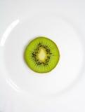 Ακτινίδιο σε ένα πιάτο Στοκ Εικόνες