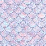 Ακτινοβολήστε άνευ ραφής σχέδιο κλιμάκων ψαριών Σύσταση ουρών γοργόνων επίσης corel σύρετε το διάνυσμα απεικόνισης διανυσματική απεικόνιση