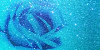 Ακτινοβολήστε με το ροδαλό μπλε υπόβαθρο διανυσματική απεικόνιση