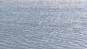 Ακτινοβολήστε νερό στην επιφάνεια της λίμνης την άνοιξη απόθεμα βίντεο