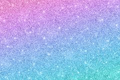Ακτινοβολήστε οριζόντια σύσταση με την μπλε ρόδινη επίδραση χρώματος απεικόνιση αποθεμάτων