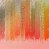 Ακτινοβολήστε swatches χρώματος με τα βρώμικα αποτελέσματα Υπόβαθρο επιφάνειας Grunge διανυσματική απεικόνιση