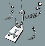 ακτινοβολία αγκιστριών Στοκ εικόνες με δικαίωμα ελεύθερης χρήσης