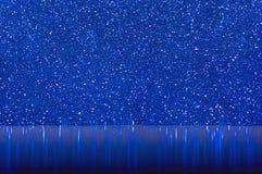 Ακτινοβολώντας λαμπρή επιφάνεια που καλύπτεται με το χρωματισμένο μπροκάρ Στοκ Εικόνα