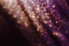 Ακτινοβολήστε και καείτε μαλακό πολυ χρωματισμένο bokeh να λάμψει Σκοτεινό αφηρημένο ονειροπόλο wunderful υπόβαθρο σπινθηρίσματος Στοκ Εικόνες