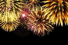 Ακτινοβολήστε πυροτεχνήματα για το εορταστικό σχέδιο σπινθηρίσματος Στοκ φωτογραφία με δικαίωμα ελεύθερης χρήσης