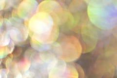 Ακτινοβολήστε υπόβαθρο Bokeh φυσαλίδων Στοκ Εικόνα