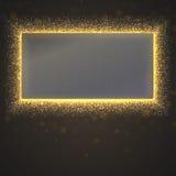 Ακτινοβολώντας υπόβαθρο σκόνης αστεριών Στοκ Φωτογραφία