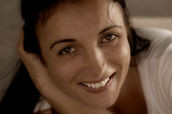 ακτινοβόλο χαμόγελο Στοκ εικόνες με δικαίωμα ελεύθερης χρήσης