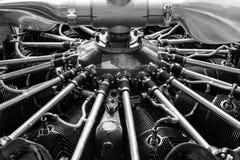 Ακτινωτή μηχανή αεροσκαφών Στοκ Εικόνες