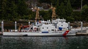 Ακτοφυλακή σε Juneau στοκ εικόνες με δικαίωμα ελεύθερης χρήσης