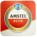 Ακτοφύλακας ποτών Beermat που απομονώνεται Στοκ εικόνες με δικαίωμα ελεύθερης χρήσης