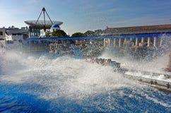 Ακτοφύλακας Poseidon παφλασμών νερού Στοκ φωτογραφία με δικαίωμα ελεύθερης χρήσης