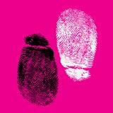 δακτυλικά αποτυπώματα Στοκ Φωτογραφία