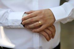 δακτυλίων Στοκ φωτογραφία με δικαίωμα ελεύθερης χρήσης