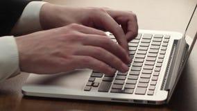 δακτυλογράφηση απόθεμα βίντεο