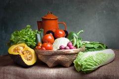 Ακόμα λαχανικά ζωής Στοκ Εικόνες