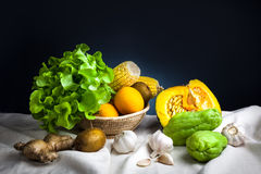 Ακόμα λαχανικά ζωής Στοκ Φωτογραφίες