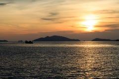 Ακόμα βάρκα Στοκ Εικόνες