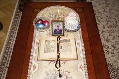 Ακόμα ζωή για τη γιορτή του ιερού Πάσχας στοκ εικόνες
