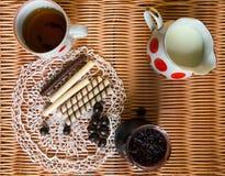 Ακόμα ζωή με τα μπισκότα Στοκ εικόνα με δικαίωμα ελεύθερης χρήσης
