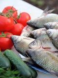 Ακόμα ζωή με τα τρόφιμα Στοκ Εικόνες