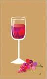 Ακόμα ζωή με το κρασί και τα σταφύλια Στοκ φωτογραφία με δικαίωμα ελεύθερης χρήσης