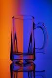 Ακόμα ζωή με wineglass γυαλιού της μπύρας Στοκ Εικόνα