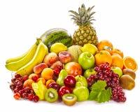 Ακόμα ζωή των φρέσκων υγιών τροπικών φρούτων Στοκ Εικόνες