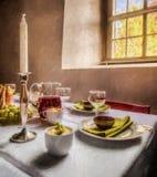 Ακόμα-ζωή - ύφος ελαιογραφίας Στοκ φωτογραφία με δικαίωμα ελεύθερης χρήσης
