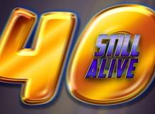 40 ακόμα ζωντανός διανυσματική απεικόνιση