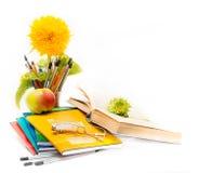 Ακόμα σχετικά με το θέμα του σχολείου. Ημέρα δασκάλων Στοκ Φωτογραφία