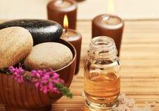 Ακόμα σύνολο Aromatherapy ζωής Στοκ εικόνες με δικαίωμα ελεύθερης χρήσης