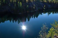 ακόμα ύδατα Στοκ φωτογραφίες με δικαίωμα ελεύθερης χρήσης