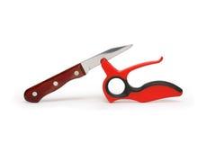 ακόνισμα μαχαιριών Στοκ Εικόνα