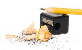 ακόνισμα μολυβιών Στοκ φωτογραφία με δικαίωμα ελεύθερης χρήσης