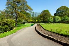 Αλέα πάρκων την άνοιξη στοκ φωτογραφίες με δικαίωμα ελεύθερης χρήσης