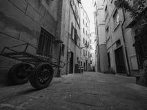Αλέα σε Camogli στοκ εικόνα
