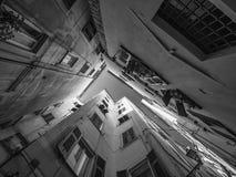 Αλέα σε Camogli στοκ φωτογραφία