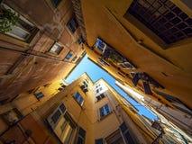 Αλέα σε Camogli στοκ εικόνες με δικαίωμα ελεύθερης χρήσης