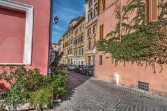 Αλέα σε Trastevere Στοκ Φωτογραφίες