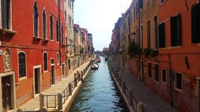 Αλέα στη Βενετία, Ιταλία Στοκ Εικόνες