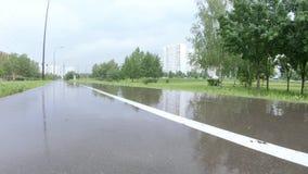 Αλέα στο πάρκο μετά από τη βροχή