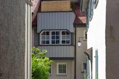 αλέα στο wangen πόλεων της νότιας Γερμανίας στοκ εικόνα με δικαίωμα ελεύθερης χρήσης